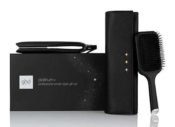 GHD Platinum+ hair straightener gift set (worth over £210)