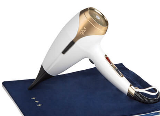 GHD Helios™ hair dryer in stylish white