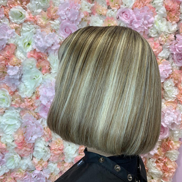Full head colour, Cut & blow dry