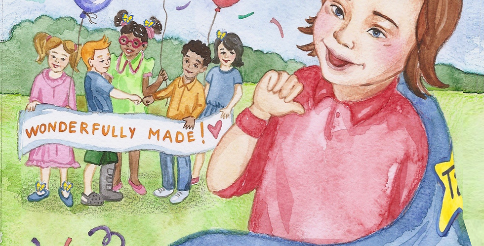 1st Down Syndrome Book Series of Its Kind/ My Little Sunshine Face/ Coloring & Activity Storybook