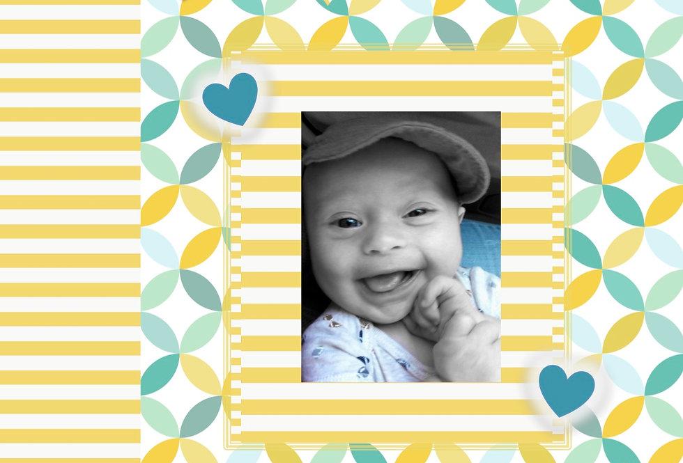 My Little Sunshine Face - Baby Memory Story Scrapbook (Vol. 1)