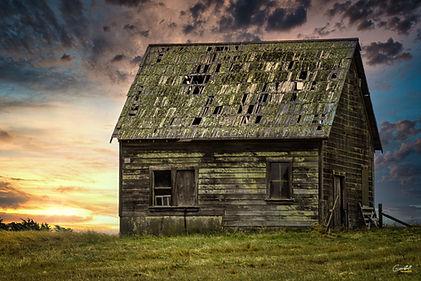 old farm house, rustic, farm, ranch, sunset,