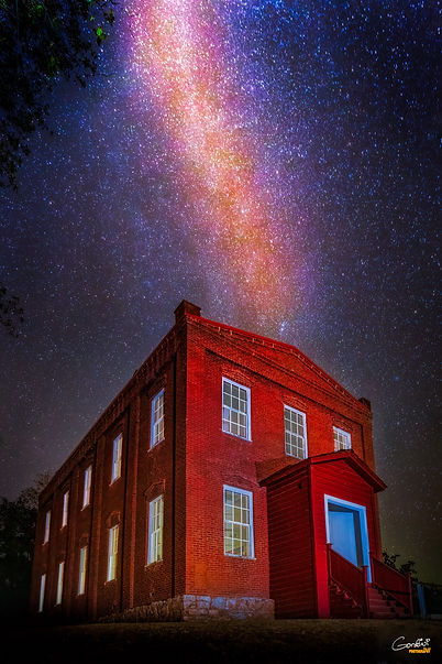 Milky Way, Astrophotography, Stars, Light Painting