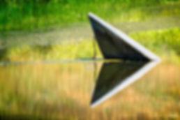 Boat, Pond, Water, Lake, Reflection