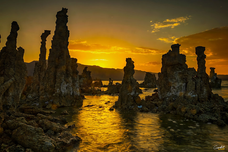 Mono Lake, Tufa, Sunset