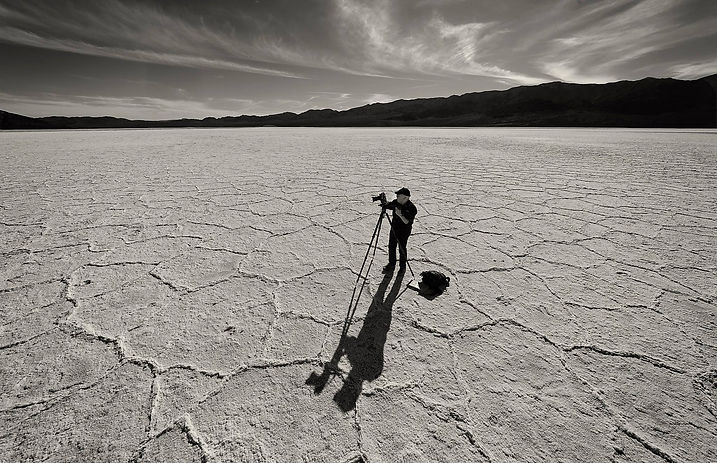 Waiting for the light - Badwater Basin.j
