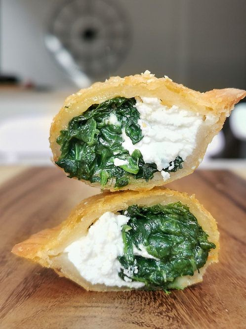 Spinach + Goats Cheese