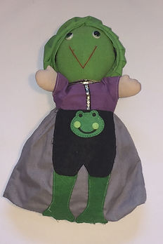 The Frog Prince StoryBook Doll