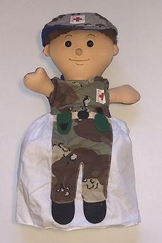 Medic 3 in 1 doll