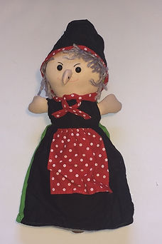 Wicked Witch 3 in 1 doll