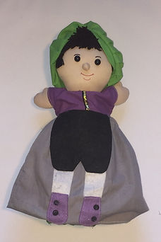 The Frog Prince 3 in 1 doll