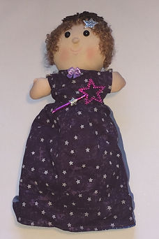 Fairy Godmother in Cinderella 3 in 1 storybook doll