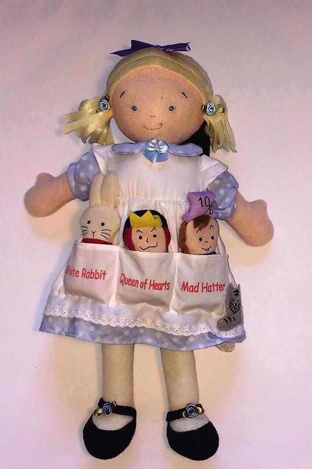Alice in Wonderland StoryBook Doll