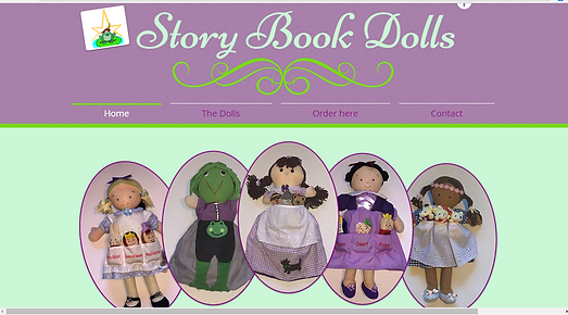 Story Book Doll website