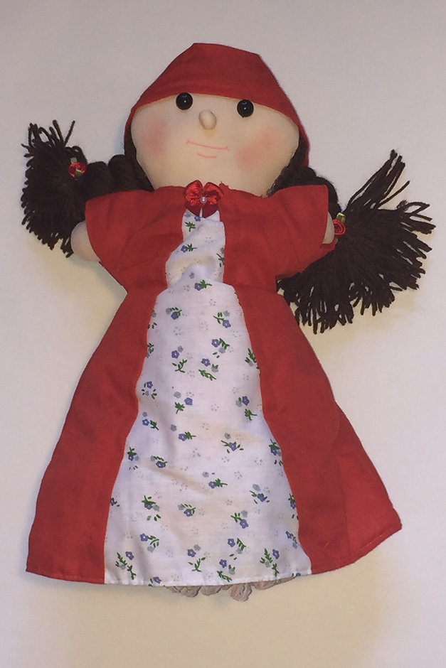Little Red Riding Hood 3 in 1 doll