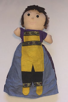 Prince Charming 3 in 1 topsy turvy doll