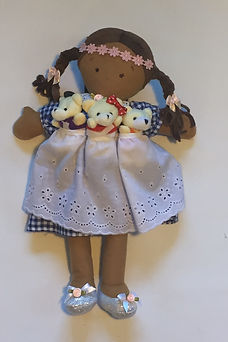 Goldilocks and the 3 Bears StoryBook Doll