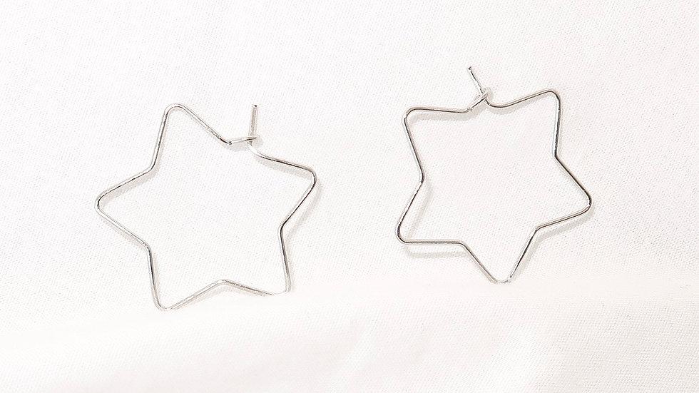 """""""Starry Night"""" Hoop Earrings"""