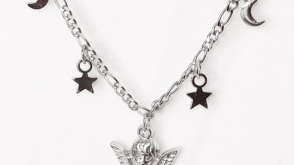 """Sweet Dreams"" Charmed Choker Necklace"