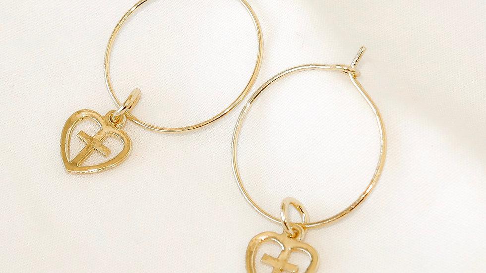 """""""Renaissance"""" Hoop Earrings"""