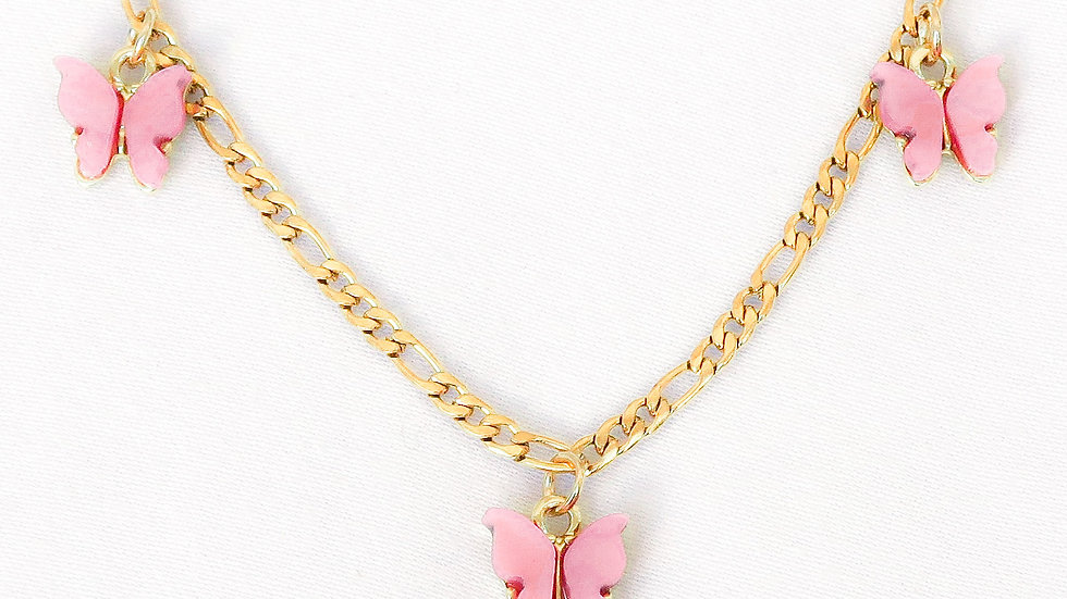 """Candy Floss"" Charmed Choker Necklace"