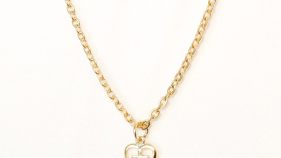 """Renaissance"" Single Charm Necklace"