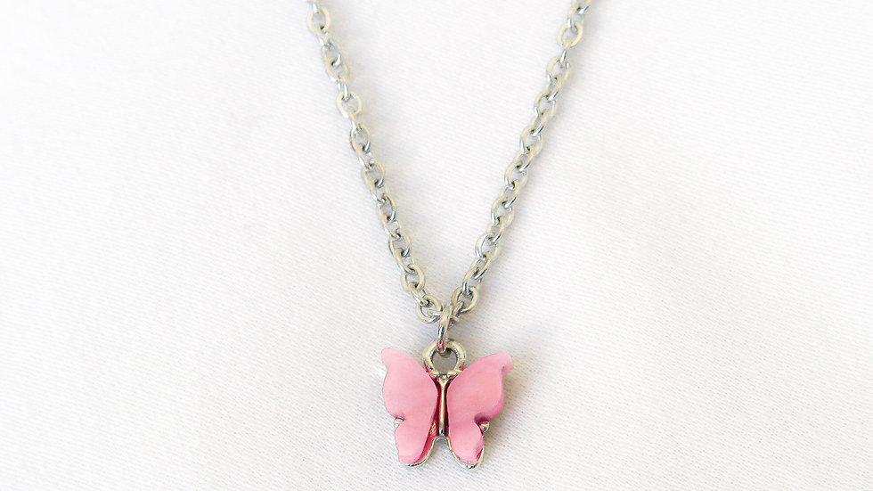 """""""Candy Floss"""" Single Charm Necklace"""