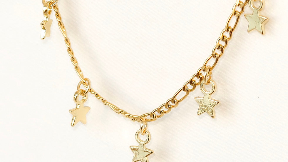 """""""Star-Crossed Lovers"""" Charmed Choker Necklace"""
