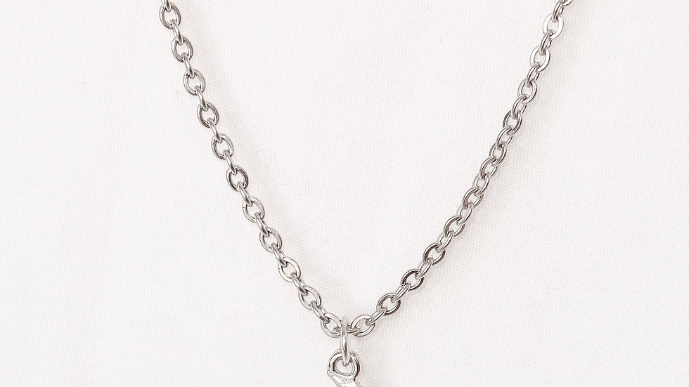 """Moon Child"" Single Charm Necklace"