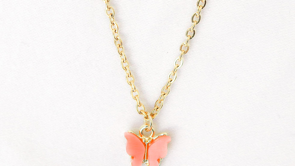 """Apricot Princess"" Single Charm Necklace"