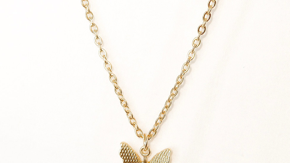 """""""Butterfly Effect"""" Single Charm Necklace"""