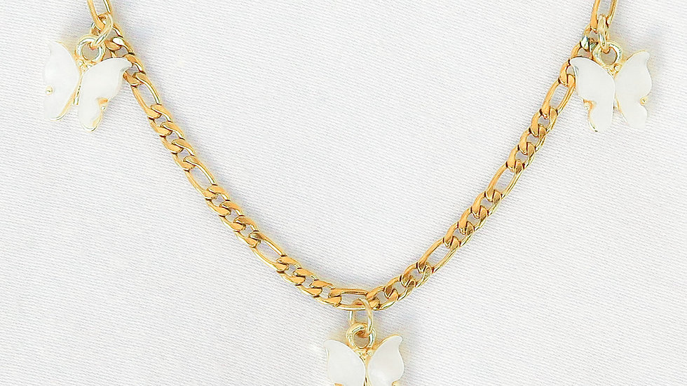 """""""Cloud 9"""" Charmed Choker Necklace"""