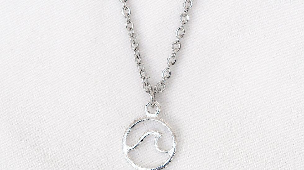 """""""Waimea"""" Single Charm Necklace"""