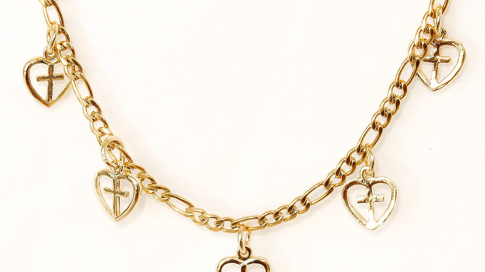 """Renaissance"" Charmed Choker Necklace"