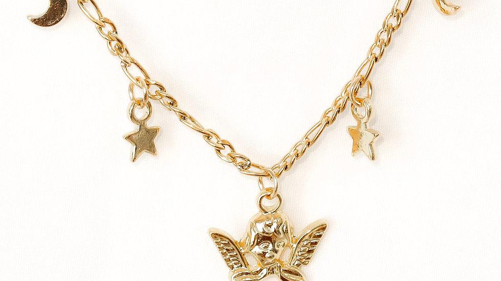 """Sweet Dreams"" Charmed Choker Necklace"