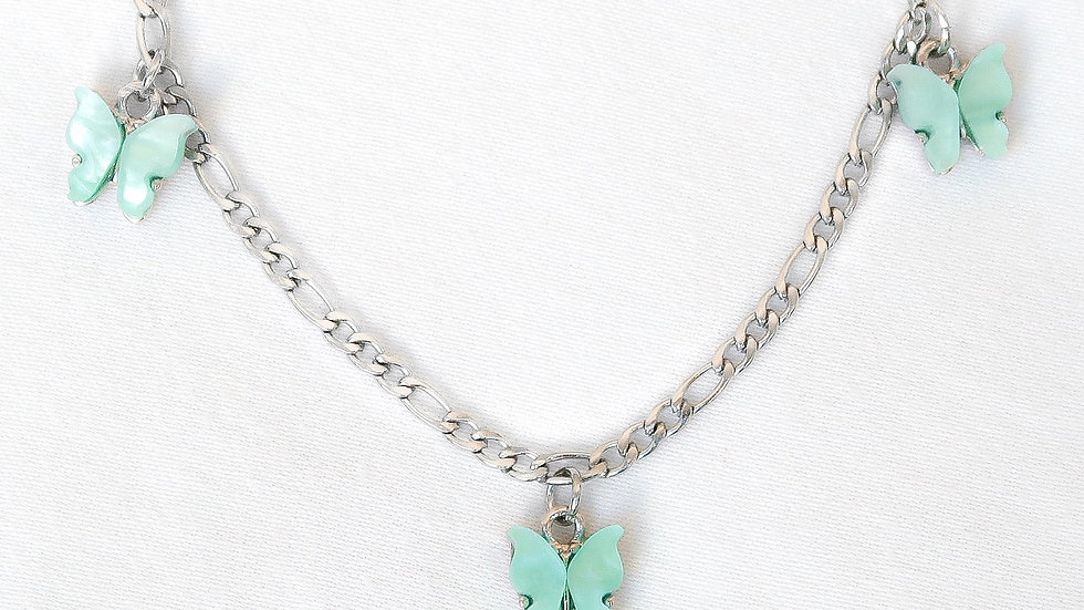 """Bahamas"" Charmed Choker Necklace"