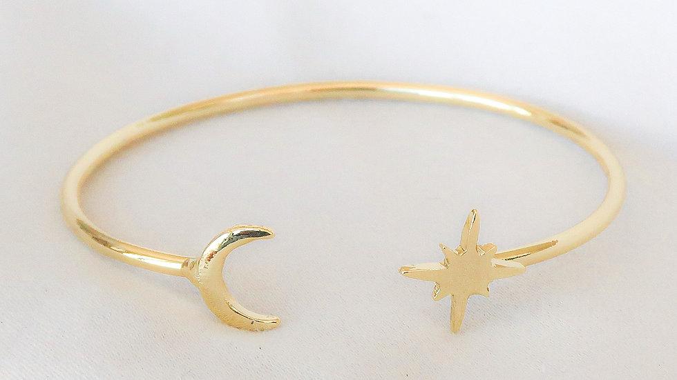"""Celestial"" Bangle Bracelet"
