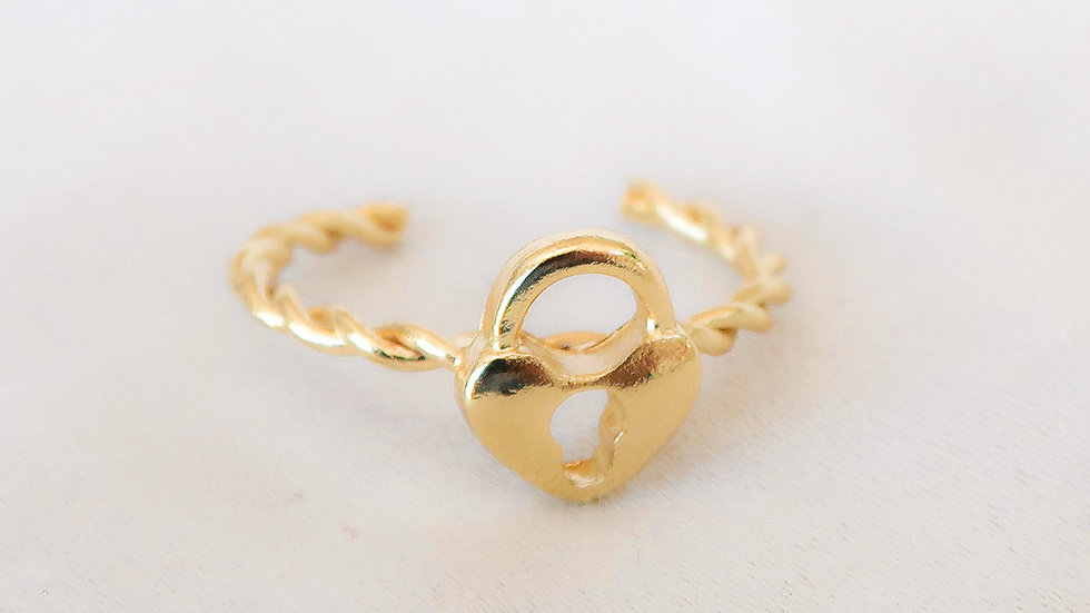 """""""Heartless"""" Ring"""