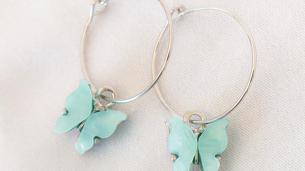 """""""Bahamas"""" Hoop Earrings"""