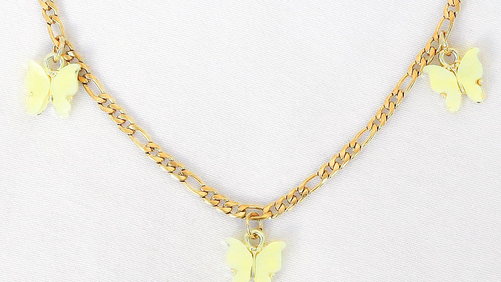 """Lemonade"" Charmed Anklet"