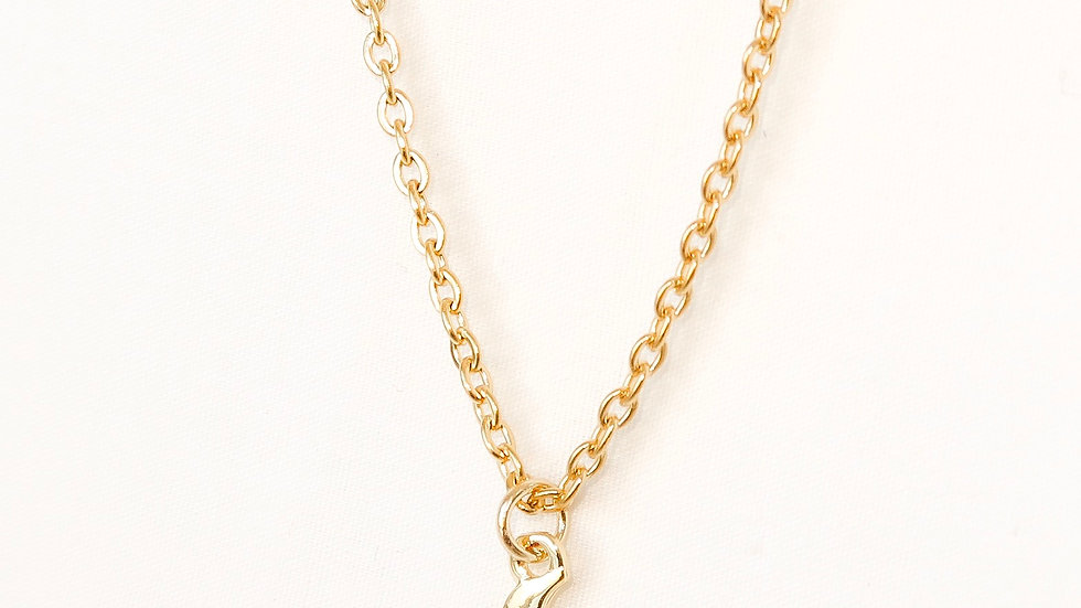 """Moon Child"" Single Charm Necklace"