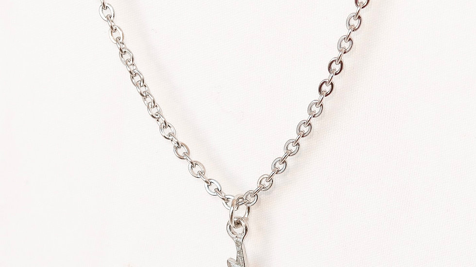 """""""Electric"""" Single Charm Necklace"""