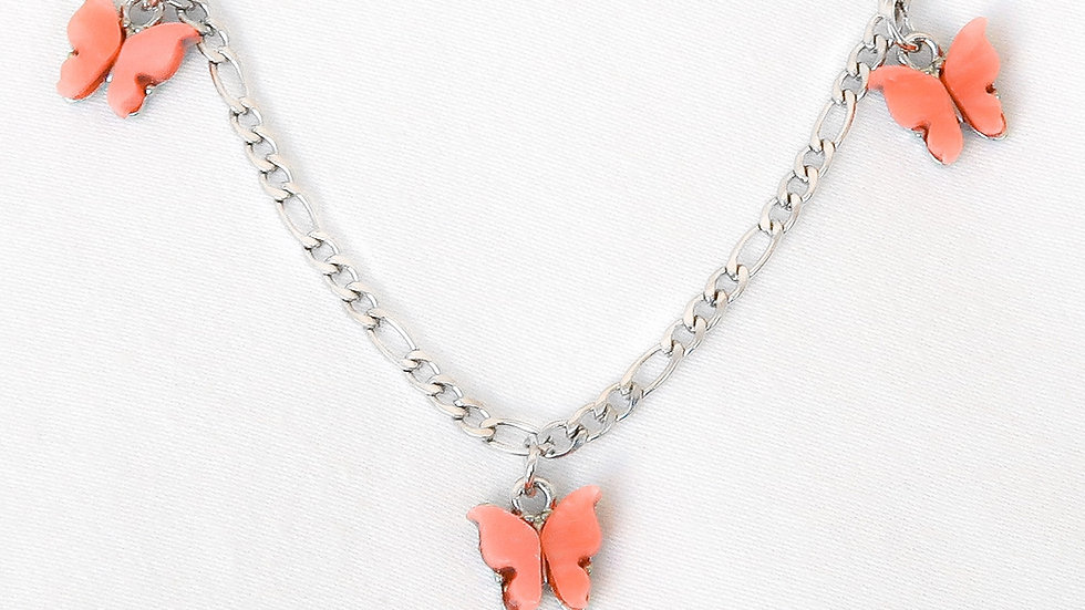 """Apricot Princess"" Charmed Choker Necklace"