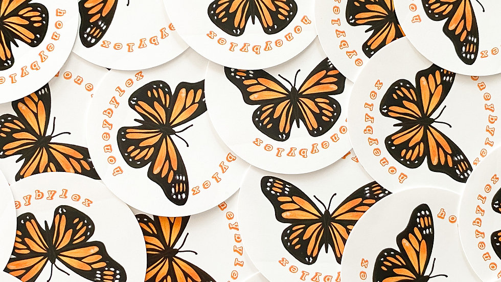 """Mariposa"" Sticker"