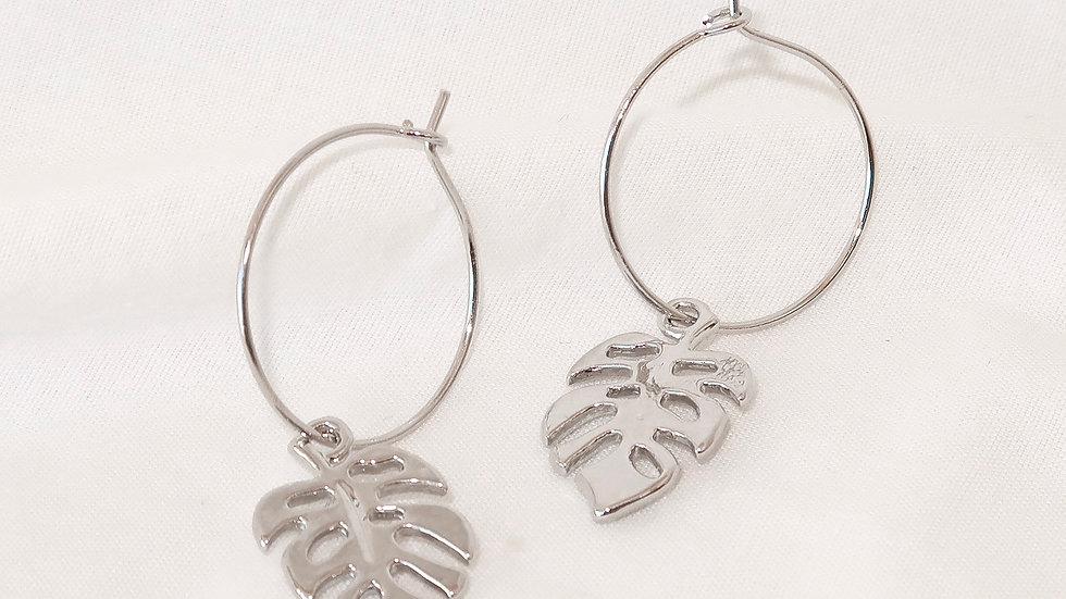 """""""Lilo"""" Hoop Earrings"""