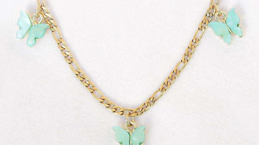"""""""Bahamas"""" Charmed Choker Necklace"""