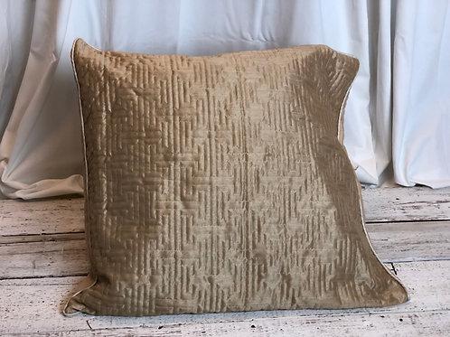 Beige Maze Pillow