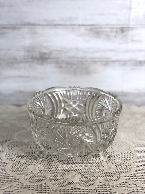 Small Circular Crystal Dish