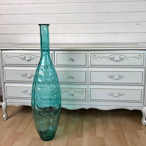 Turquoise Tall Vase