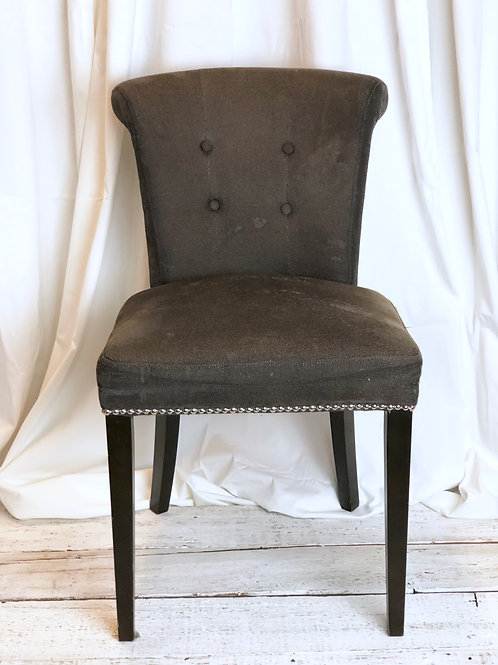 Brown Riveted Chair